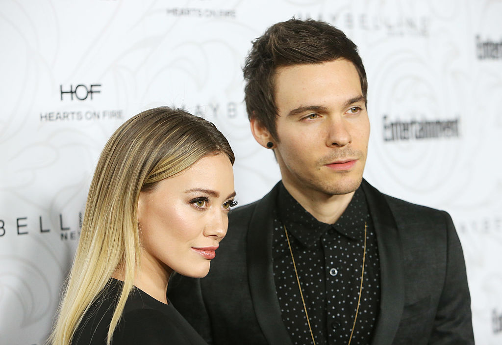Hilary Duff and her ex sneakily showed up on each other's Instagrams over the weekend