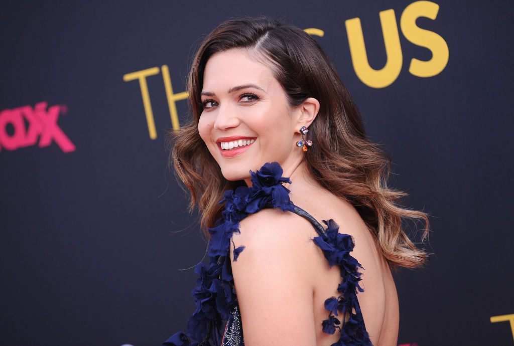 Mandy Moore's dark ombre hairstyle might be the best we've seen on her