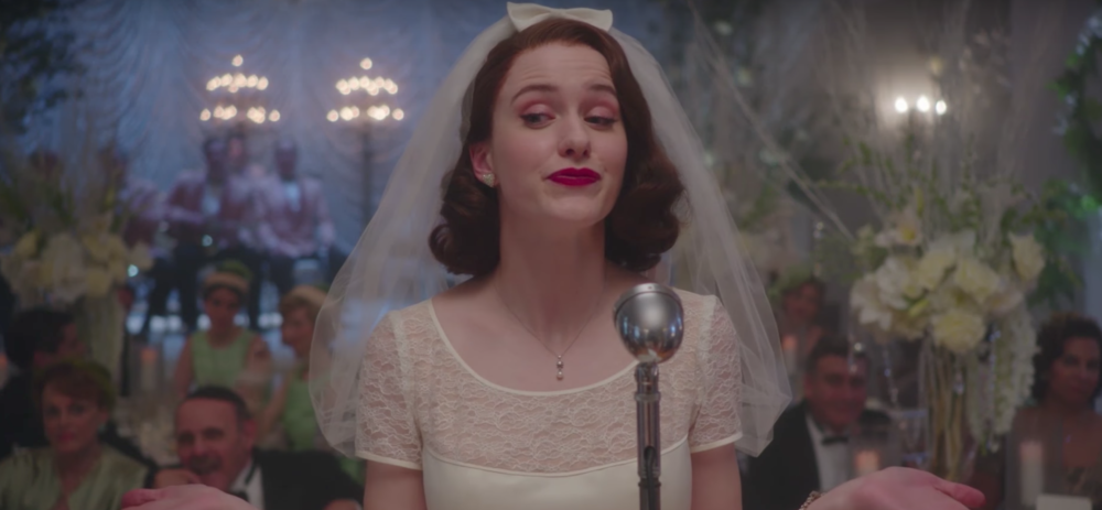 "There's an absolutely precious ""Gilmore Girls"" wedding detail in ""The Marvelous Mrs. Maisel"""