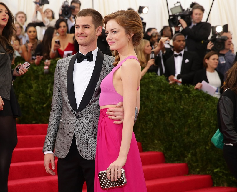 "Andrew Garfield revealed he's Emma Stone's ""biggest fan"""