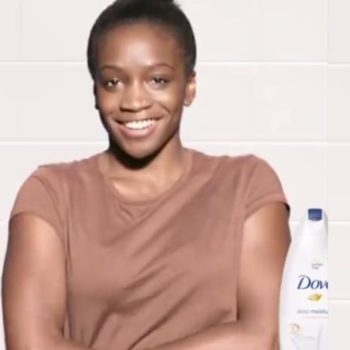 The model from the controversial new Dove ad just spoke up about her experience