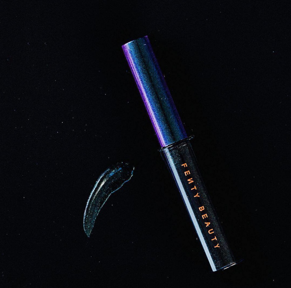 Fenty Beauty's new eyeliners from the holiday collection secretly release glitter