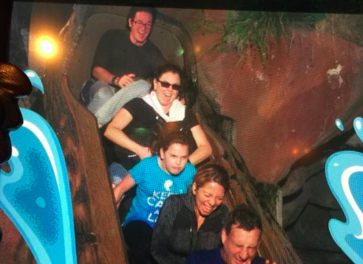 This reddit thread on what to do if you have severe anxiety about Splash Mountain will make you feel so seen