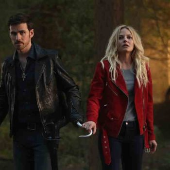 "Hold the storybook, these new ""Once Upon A Time"" photos suggest that Emma Swan is pregnant"
