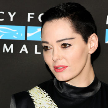 """Rose McGowan's Twitter account has been suspended, and she says, """"powerful forces are at work"""""""
