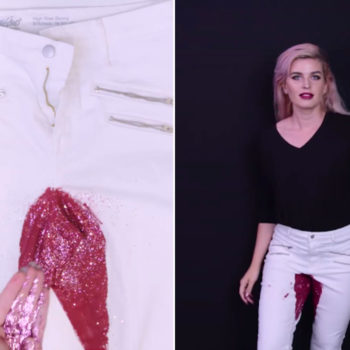 "Why ""surprise period pants"" is actually the best Halloween costume"