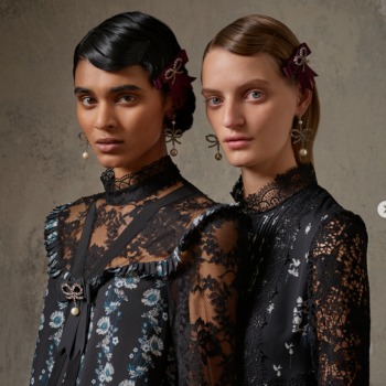 The H&M x Erdem collection looks like it was plucked out of your grandma's closet —  in the best way