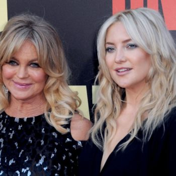 Kate Hudson says mom Goldie Hawn once broke up a party in lingerie