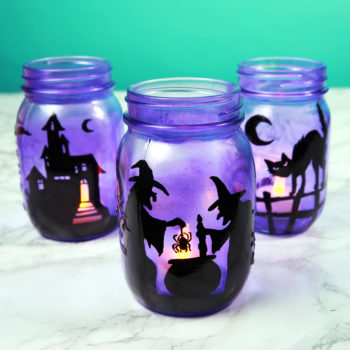 Light up your Halloween night with these DIY spooky lanterns