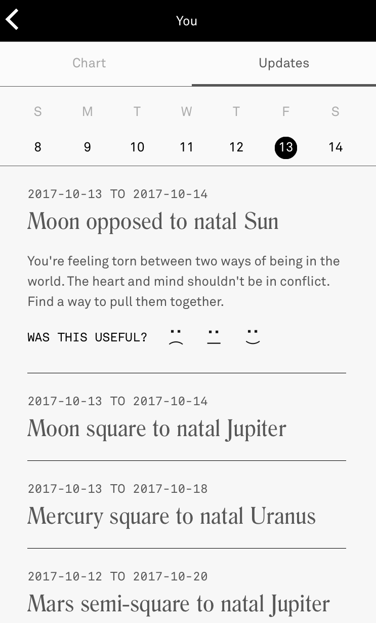 This new astrology app uses info from nasa to give you the most with modern designs detailed personal analytics of your own birth chart and horoscopes all powered by nasa ai costar is changing the way we interact nvjuhfo Choice Image