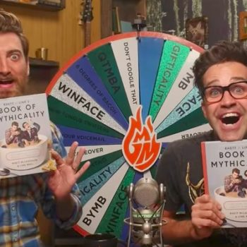 "We talked with Rhett & Link about their epic new book ""Rhett & Link's Book of Mythicality"""