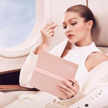 Here's your first look at Maybelline's makeup collab with Gigi Hadid