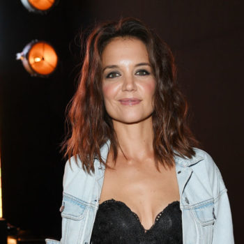 Katie Holmes' bouffant hairstyle is fresh for 2017