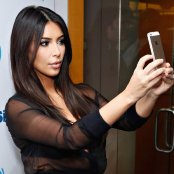 Kim Kardashian says selfies are over, and what?!