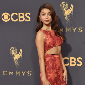 Sarah Hyland just shared the most incredible needlepoint message, and we need it on our wall like yesterday
