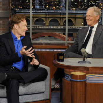 David Letterman once gave Conan O'Brien a horse as a thank you gift, because of course