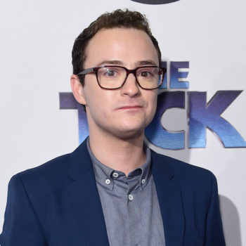 Actor Griffin Newman just donated his whole salary to RAINN after working on Woody Allen's new movie