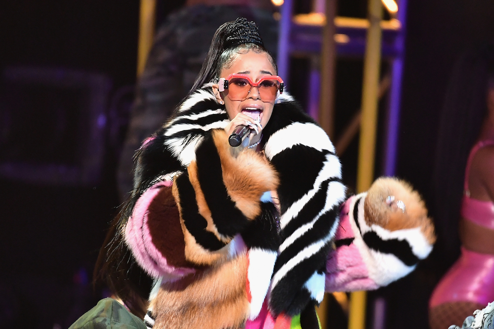 Cardi B just shared a secret about where she gets her fashion inspo — and it is, quite literally, incredible