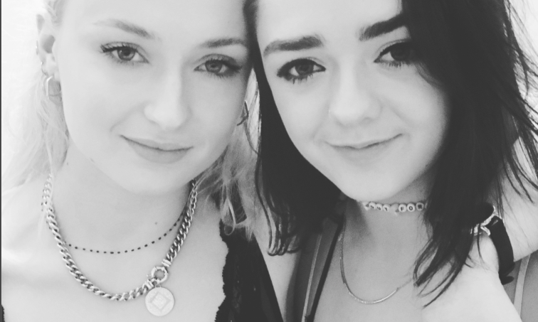 Maisie Williams' IG reaction to Sophie Turner's engagement is why these two are #BFFGoals