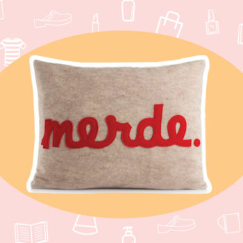 WANT/NEED: If Monday could be a pillow, it would be this one, plus other stuff you'll want to buy