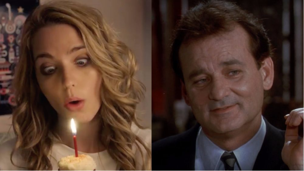 "Don't worry, ""Happy Death Day"" knows it's a lot like ""Groundhog Day"""