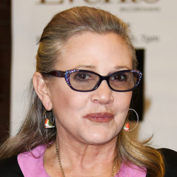 Carrie Fisher sent a serious message to a producer who sexually assaulted her friend