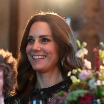 Kate Middleton's half-curled hairstyle is the lazy girl look for fall