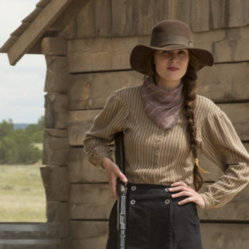 "Michelle Dockery heads to the wild, wild west in the first trailer for Netflix's ""Godless"""