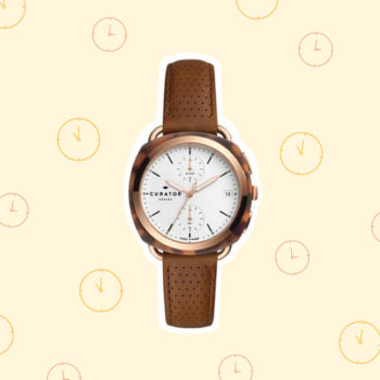 Fossil partnered with Amber Interiors to create the watch you'll never want to take off