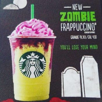 Starbucks is allegedly releasing a Halloween drink: the Zombie Frappuccino