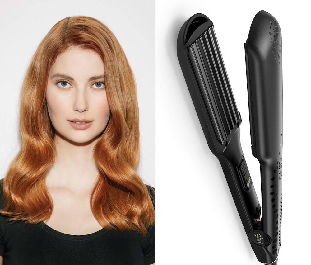 This new hot tool is a modern-day version of a crimper, and it contours your hair
