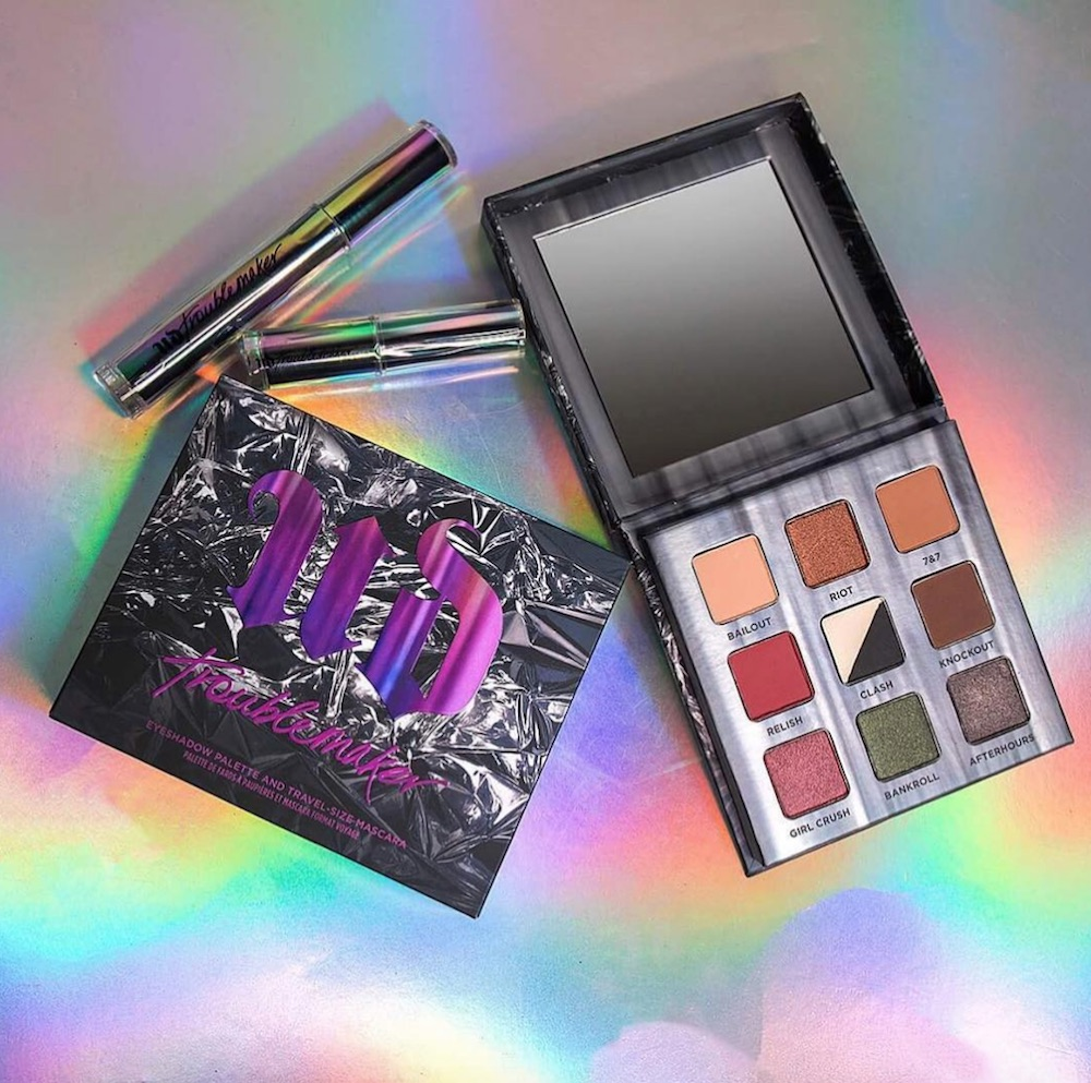 Urban Decay is releasing a sultry new eyeshadow palette to match its Troublemaker mascara