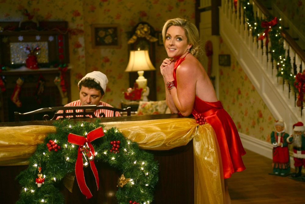 you dont need to get us anything else for the holidays because jane krakowski has joined the cast of a christmas story live