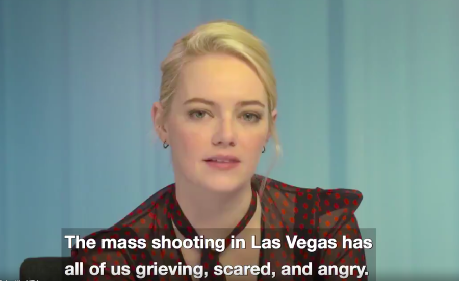 Emma Stone and more of our favorite celebrities joined forces for a PSA urging stricter gun laws