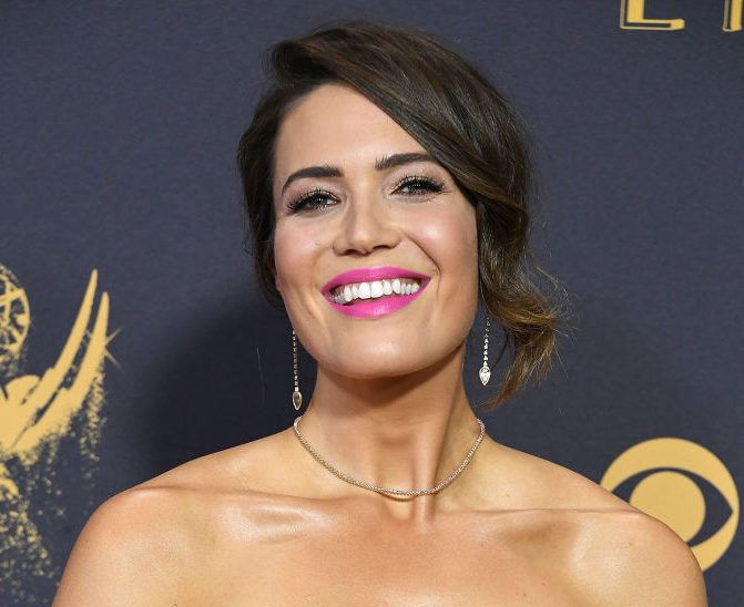 Mandy Moore's rainbow heels are making our world a better place