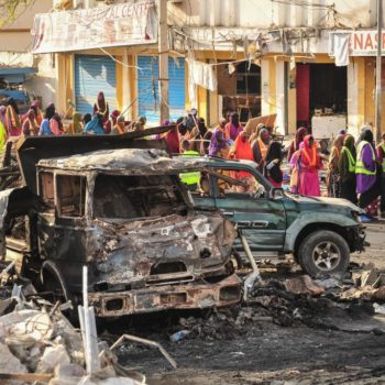 Why isn't the deadly bombing in Somalia receiving more media coverage?