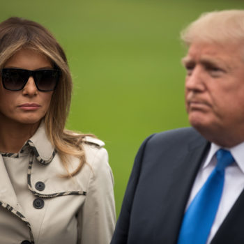 Twitter currently has an insane theory about Melania Trump