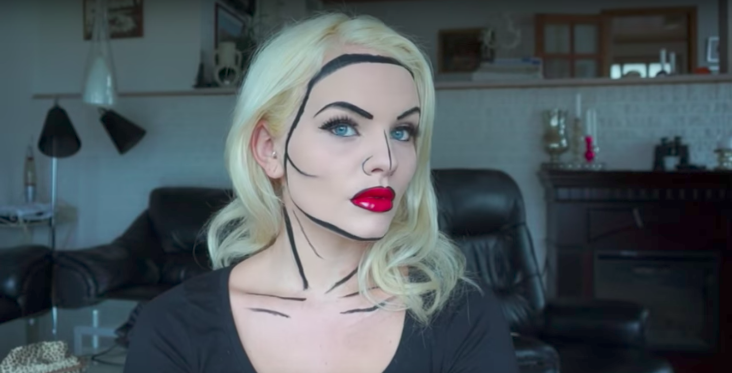 Halloween costumes you only need eyeliner to create