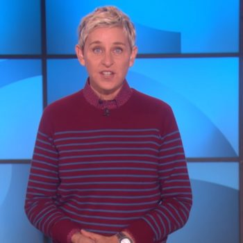 "Ellen DeGeneres joined the #MeToo movement, saying this ""isn't a male or a female thing"""