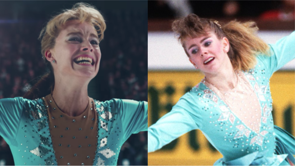 "Tonya Harding saw ""I, Tonya"" and very much enjoyed Margot Robbie's amateur skating"