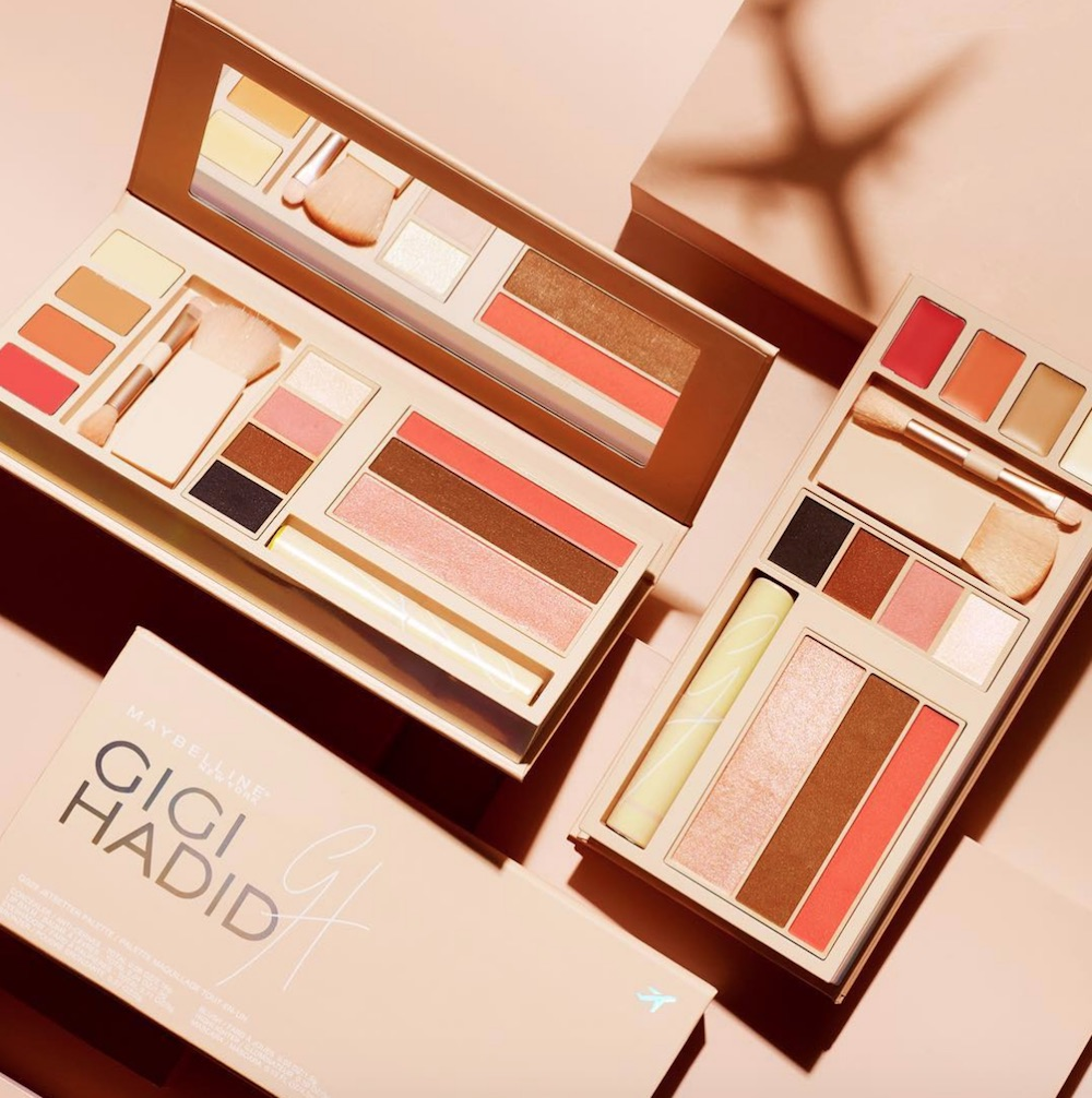 The Gigi Hadid x Maybelline Jetsetter palette just landed at Ulta Beauty early
