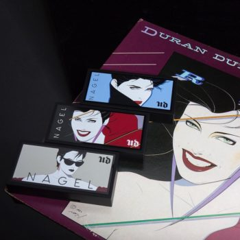 Urban Decay's new lip palettes are inspired by iconic '80s artist Patrick Nagel