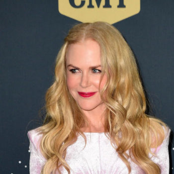 Nicole Kidman's bubblegum pink velvet dress is a surprise look for fall