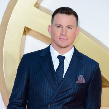 Channing Tatum went as a unicorn to his daughter's preschool Halloween party