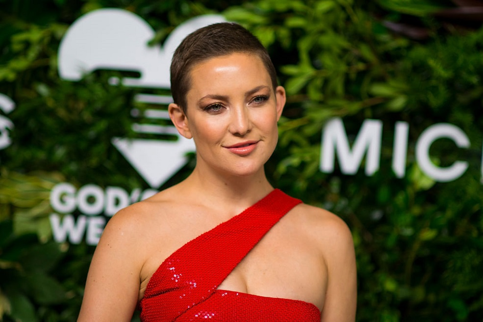 Kate Hudson revealed acting wasn't her first career choice