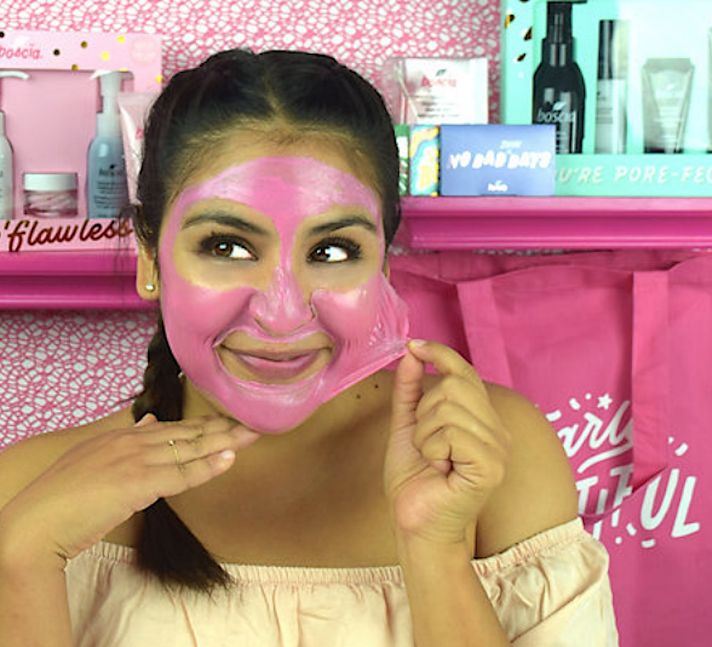Boscia's pink mask will make you look like you popped bubblegum on your face — in the best way