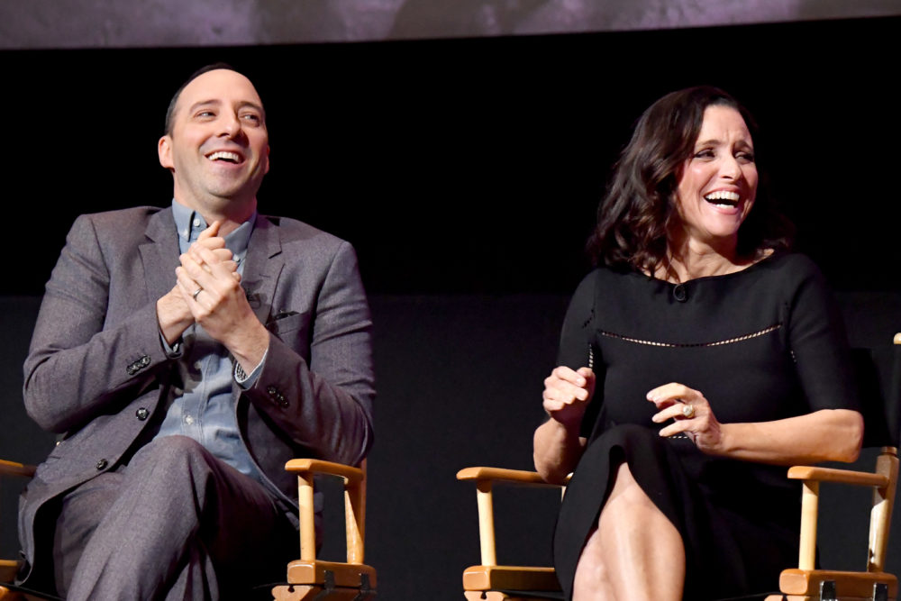 """Julia Louis-Dreyfus's """"Veep"""" co-stars made the sweetest video to help her stay strong during chemo"""