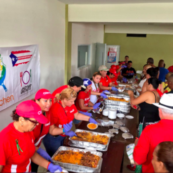 This celebrity chef has served 1 million meals in Puerto Rico since the hurricane, more than the Red Cross