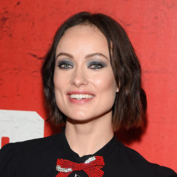 Olivia Wilde showed us how to style our bob haircuts for the fall