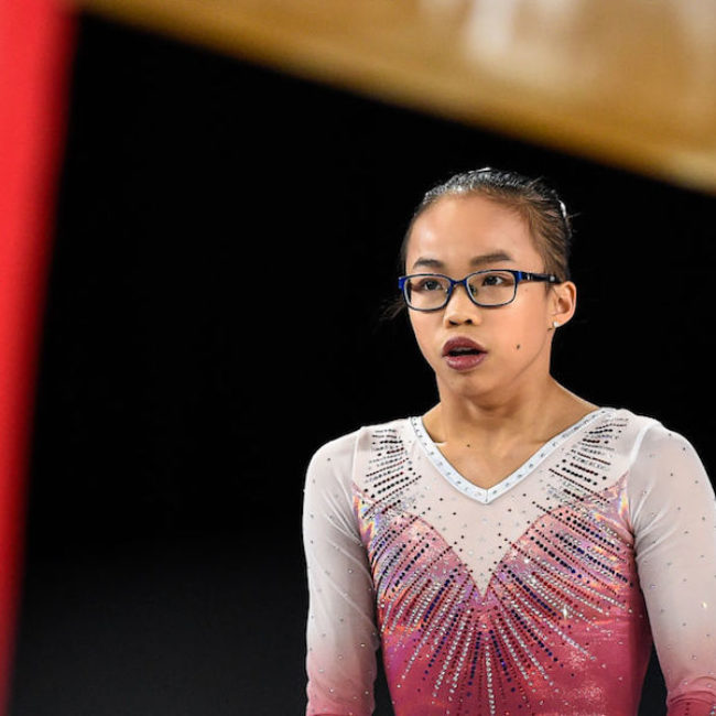 Why I loved watching glasses-wearer Morgan Hurd win the Gymnastics World Championship